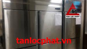 Tủ đông và tủ mát 4 cánh Hoshizaki lắp đặt cho khu bếp nhà hàng tại Hà Nội
