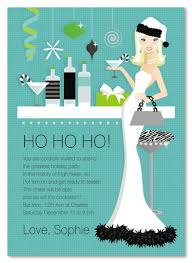 Christmas Invitation Ideas Holiday Blonde Hostess Invitation Christmas Party Invitations 21899