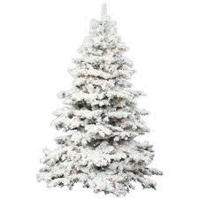 Slim Artificial Christmas Trees  Tree ClassicsSlim Flocked Christmas Trees Artificial