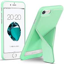 kacool iphone 8 case iphone 7 case wireless charging magnetic kickstand folding