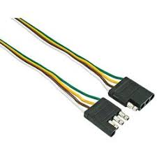 cheap trailer wiring 4 flat trailer wiring 4 flat deals on get quotations · 4 way flat 60 connector loop trailer wiring kit 2pack