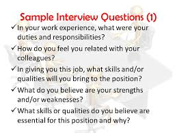 Interview Skills' For Post-Primary Students - Ppt Video Online Download
