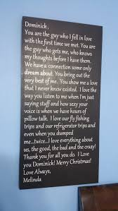 Love Letter To Your Husband Wife Valentine Wood Sign Quote Saying