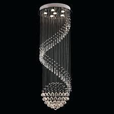 funky modern chandeliers modern chandelier rain drop lighting spiral wave crystal ball fixture pendant ceiling lamp