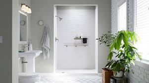 kohler walk in shower kohler luxstone