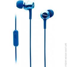 <b>Наушники SONY MDR</b>-<b>EX255AP</b> Blue