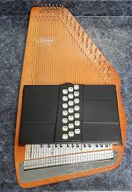Vintage Oscar Schmidt 36 String 21 Chord Auto Harp 1970s
