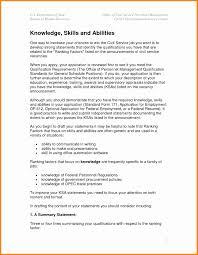 Federal Resume Format Inspirational Resume Samples Careerproplus Fe