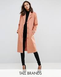 women s y a s tall on down peacoat c44l7