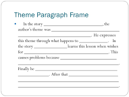 Theme In Drama, Prose, Poetry - Lessons - Tes Teach