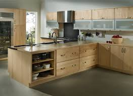 popular unbelievable light wood kitchen cabinet ideas best with of colors regarding cabinets