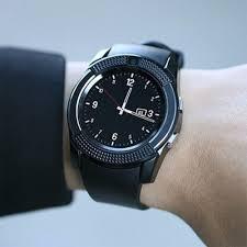 Đồng hồ thông minh V8 cảm ứng mặt tròn sang trọng, gắn sim độc lập, có