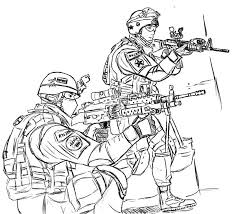 Military Coloring Pages Book Printable To Download Page Fancy