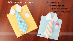 Design A Birthday Card For Dad Shirt Tie Greeting Card For Birthday Fathers Day