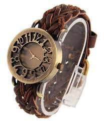 the oholic brown ogue leather belt watch for girls stylish in india the oholic brown ogue leather belt watch for girls stylish