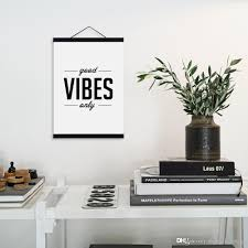 modern minimalist hipster living room wall art black white inspirational typography es a4 large poster print canvas painting custom made pop art unique