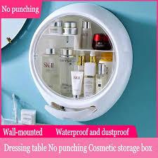 <b>Wall</b>-<b>Mounted Cosmetic storage box</b> Waterproof and dustproof ...