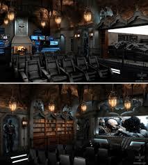 Batman Man Cave Home Cinema