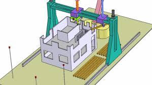 Winsun Decoration Design Engineering 1000D хэвлэх машинаар өдөрт 100 байшин барьж байна BarilgaMn 78