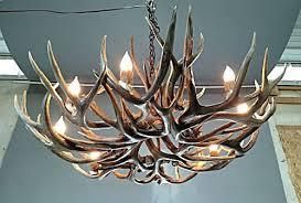 formidable deer antler chandelier with crystals kit regard to elegant household