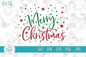 Download these free christmas shapes with a full commercial license included as always from thj! Merry Christmas Svg Cutting File Graphic By Easyconceptsvg Creative Fabrica
