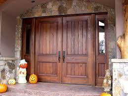 front double doors. Insulated Exterior Doors Wood Big Wooden Double With Black Door Handle Front
