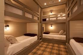 Rustic Modern Bunk Bed Design