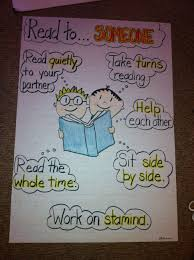 Daily 5 Read To Someone Anchor Chart Kindergarten Anchor