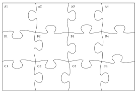 Large Blank Puzzle Pieces Template And You Complete Me Jigsaw Puzzle ...