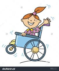 Free Clipart Kids In Wheelchairs
