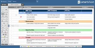 14 Free Swot Analysis Templates - Smartsheet