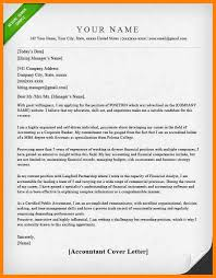 6 Sample Accounting Cover Letter Wsl Loyd