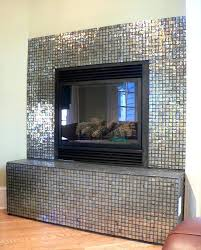 glass tile fireplace smoky quartz glass glass tile fireplace surround ideas