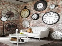Decorative Wall Clocks For Living Room Giant Wall Clock Us House And Home Real Estate Ideas