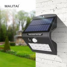Solar Batteries For Outdoor Solar Lights Us 11 88 30 Off Solar Charge Led Night Light Outdoor Wall Garden Light Pir Motion Sensor Led Solar Lamp Energy Saving Emergency Light Waterproof In