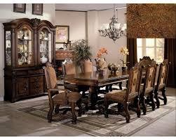 Neo Renaissance Elegant Pc Dining Room Set - Formal dining room sets for 10