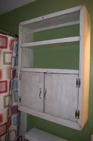 easy bathroom cabinet