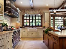 french country kitchen tile backsplash. french country kitchen beautiful tile backsplash large window in luxury farmhouse oak wooden cabinet black marble countertop high glass door