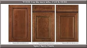 720 e cherry finish cabinet door style