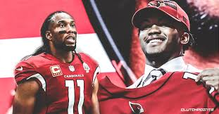 Kyler Murray Arizona Be Larry 21st Fitzgerald News Reception Quarterback Cardinals Will Throw To
