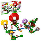 Lego Super Mario Toad's Treasure Hunt Expansion Set 71368 Toy Building Kit (464 Pieces)
