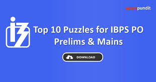 over the past few months you guys have appreciated our puzzles for sbi po upcoming ibps exams so we have decided to roll out puzzles in pdf