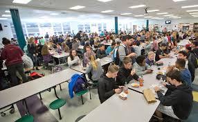High school cafeteria Crowded The Virginia Gazette Expansion Jamestown High School Cafeteria The Virginia Gazette