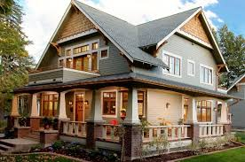 craftsman exterior house design craftsman home exterior paint colors design ideas color schemes brown brick