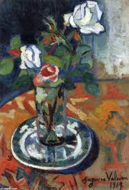 suzanne valadon roses in a vase jpg