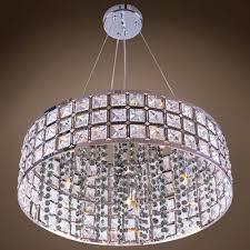 alexa 5 light crystal chandelier crystal grade european crystal color smoke