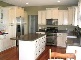 kitchens with white cabinets and green walls. White Cabinets Green Walls Gray Kitchen With Light Kitchens And E