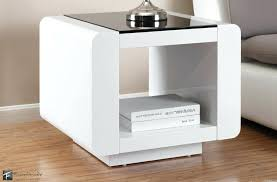 modern white side table modern small white side table design ideas small modern white side table
