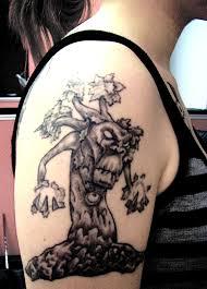 сделать тату для девушки в тематике игры варкрафт World Of Warcraft