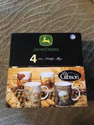 Купить gibson john deere coffee 9.99 usd ~ 739.00 руб.vintage john deere coffee tea cup mug yellow/green licensed product gibson 10 oz 12.99 usd ~ 960.92 руб.john deere. Gibson John Deere Four 4 11oz Nostalgic Coffee Mugs Asst Designs Licensed Walmart Com Walmart Com